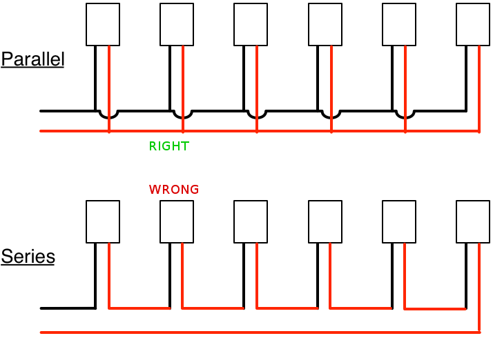 wiring lights parallel diagram bookmark about wiring diagram Lights In Parallel Wiring Diagram wiring lights in series or parallel